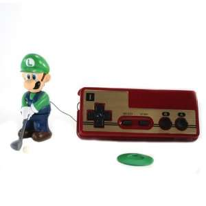 Luigi NES remote Mini Golf Figure (Wired   3.25 Figure): Toys & Games