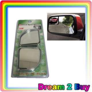 2PCS Car Blind Spot Auto Rear Wide Angle 350R Mirror