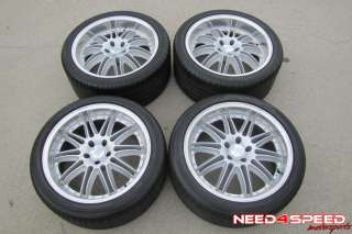 19 350Z 370Z G35 COUPE MUSTANG RUFF WHEELS RIMS TIRES