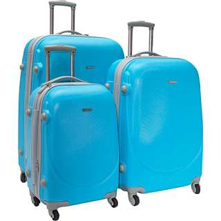 Travelers Club Luggage Barnet 3 Piece Hardside Spinner