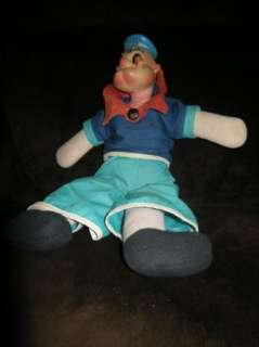 Popeye doll King Features very old 1958 ORiginal LOOK