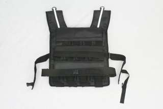 80LB weight vest 80   iron ore weighted vest w/ 24 bags