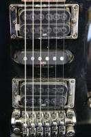 Ibanez Black Electric 6 String Guitar S470 Floyd Rose Pick Ups Hard