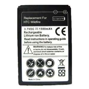 Modern Tech High Capacity 1500mAh Battery For HTC Wildfire