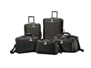 SAMSONITE Tessera 5 Piece Luggage Set   Black