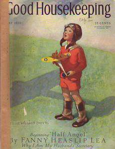 1932 Good Housekeeping May   Jessie Willcox Smith; Rose ONeill; Lewis