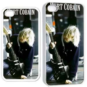 kurt cobain nirvana p iPhone Hard 4s Case White Cell