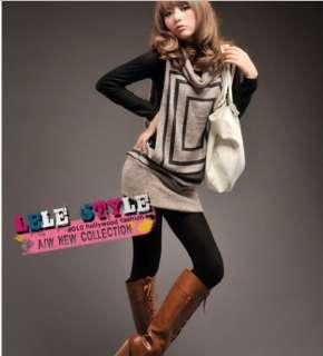 New Fashionable Choker Sleeveless Flock Brown Vest Tops 6025#