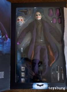 NEW Dark Knight Joker Heath Ledger 16 Scale Figure doll DC DIRECT hot