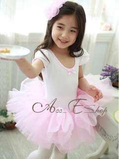 Girls Kids Princess Fairy Ballet Dance Tutu Dress up Party Costume