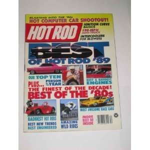 Hot Rod Magazine December 1989 190 MPH Mini Truck