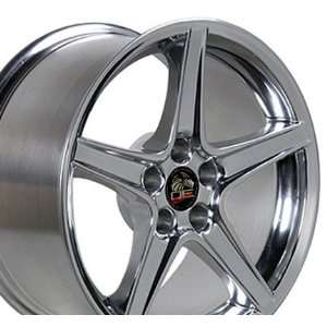 Saleen Style Wheel Fits Mustang (R)   Polished 18x9