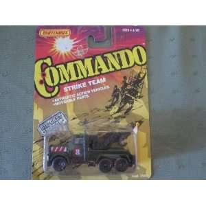 : Matchbox Commando Strike Peterbilt Hook Truck (1988): Toys & Games