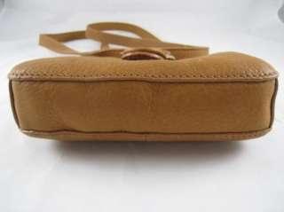 FOSSIL BRAND BAR FLAP CROSSBODY SADDLE LEATHER PURSE BAG, NWT 7 23764