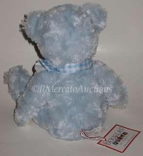 NEW DOUGLAS Cuddle Toys CLARENCE Plush Blue Teddy Bear Stuffed Animal