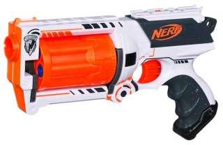 Nerf N Strike Longstrike Blaster WHITEOUT Series Limted Edition White