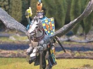 Warhammer DPS painted Bretonnian Pegasus Knights BR017