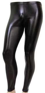 80s Heavy Metal GLAM Rock Spandex Stretch Pants BLACK