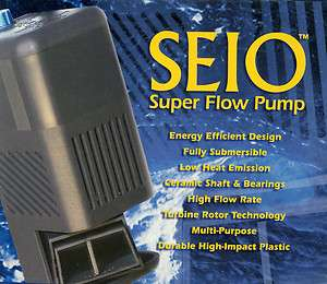 Seio 820 M820 Super Aquarium Water Flow Pump Powerhead 820 gph, NIB