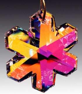 Swarovski Austrian Crystal Prism AB SNOWFLAKE Pendant