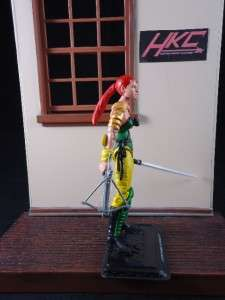 Custom SCARLETT NINJA FORCE G.I. joe 30th anniversary 1993 action
