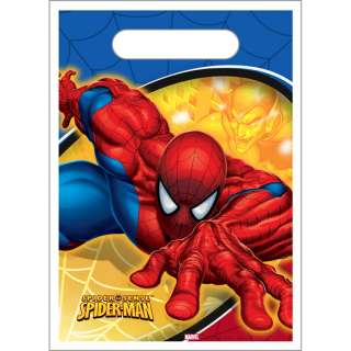 eight 8 spider sense spider man favor bags