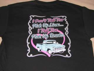 TShirt Fall For Pick Up Trucks 4 Wheelin Southern Belle SIZE: M