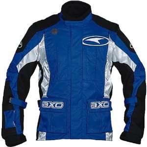 AXO Enduro Mens Off Road Motorcycle Jacket   Blue