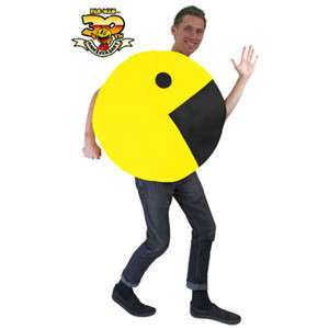 Pac Man 2D Profile Adult Costume