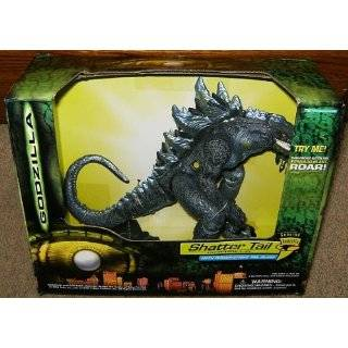 Godzilla Shatter Tail Electronic Action Figure with Power Strike Tail