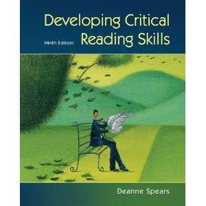 Critical Reading Skills (9780073407326): Deanne Spears: Books