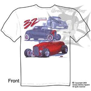 Medium, 32 Ford Evolution, Hot Rod T Shirt, New, Ships within 24 hours