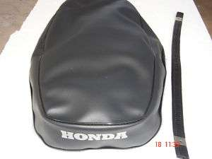 HONDA CB72 CB77 BRAND NEW SEAT COVER + STRAP HIGH QUALITY A31