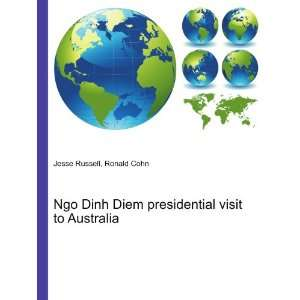 Ngo Dinh Diem presidential visit to Australia: Ronald Cohn