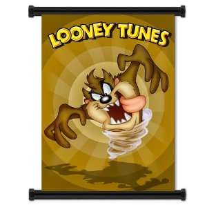 Looney Tunes Taz Tazmanian Devil Cartoon Fabric Wall