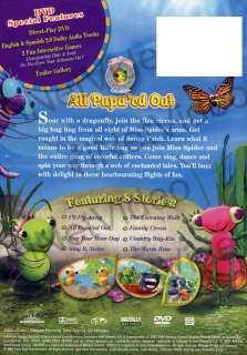 MISS SPIDERS SUNNY PATCH FRIENDS ALL PUPAED OUT *DVD*