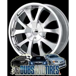 17 Inch 17x7 Ion Alloy wheels STYLE 121 Chrome wheels rims