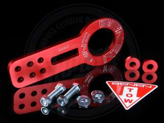 BENEN FRONT TOW HOOK RED CIVIC CRX INTEGRA RSX TSX HONDA ACURA