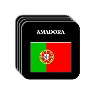Portugal   AMADORA Set of 4 Mini Mousepad Coasters