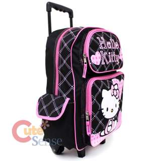 Backpack Large School Roller Bag  Love Teddy Bear 688955815810
