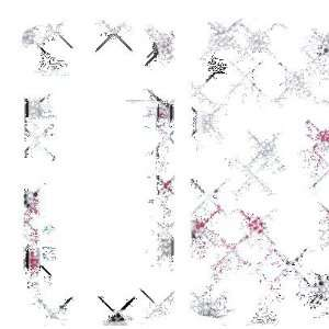 PINK ROSE DESIGN GEM BLING CASE COVER for KYOCERA ZIO