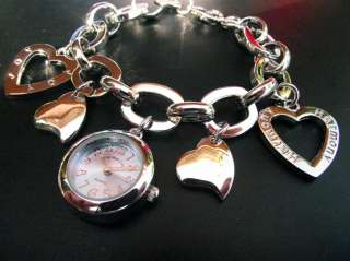 Para Mujeres Eve Mon Crois quartz analogico. Corazon Relojes