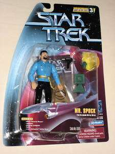 Star Trek Warp Factor Series 3 Mr. Spock figure