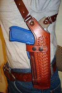 PREMIUM LEATHER SHOULDER HOLSTER 4 WALTHER PPK/S 380 AND PPS