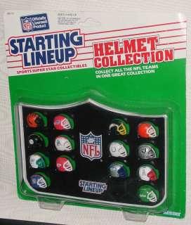 SLU STARTING LINEUP NFL HELMET COLLECTION AFC DEFENSE