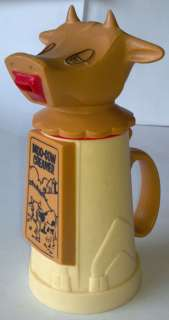 Plastic Moo Cow Creamer Whirley Industries USA Circa 1960 Kitchen Ware
