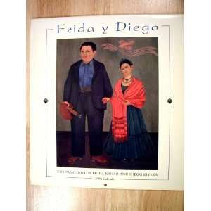 (The Paintings of Frida Kahlo and Diego Rivera) Pomegranate Books