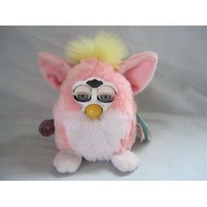 1999 Electronic Furby Babies  Pink and Yellow  Toy: Toys