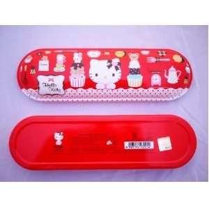 Cute Sanrio Hello Kitty School Supplies Metal Pencil Case