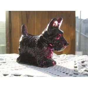 Highly Detailed Hand Cast Scottish Terrier Scotty Dog: Everything Else